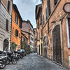 a street view in Rome